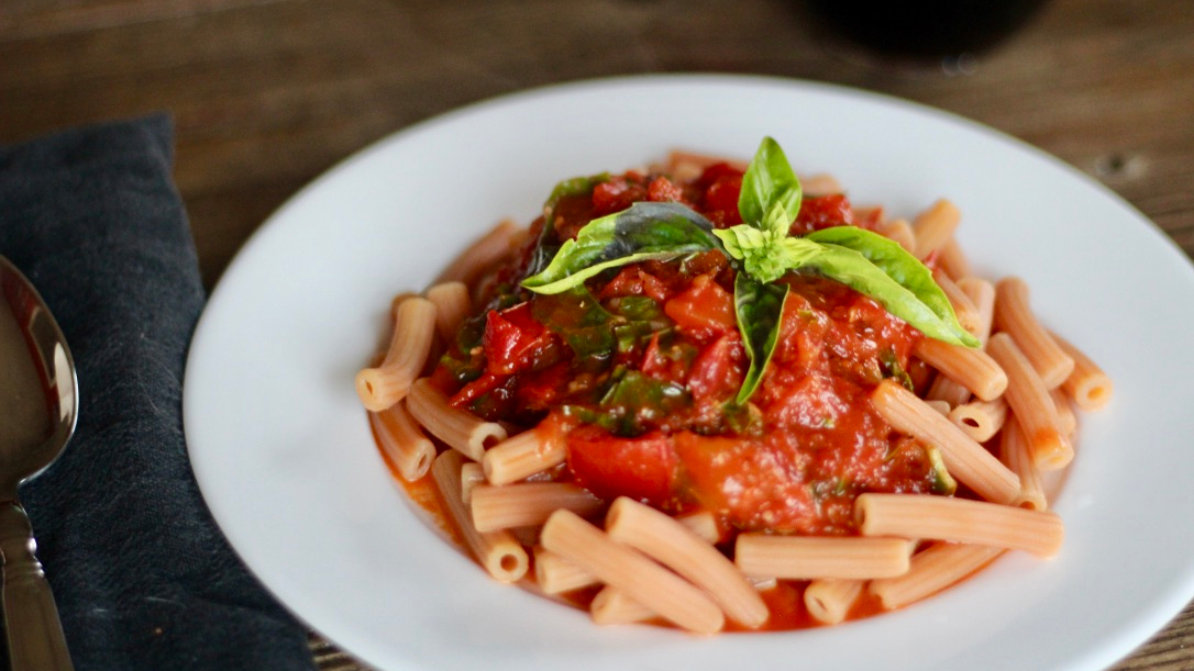 Vegan Butter Wine Tomato Sauce