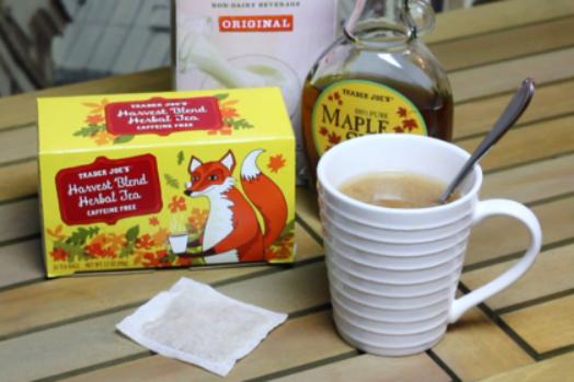 Maple Almond Harvest Tea